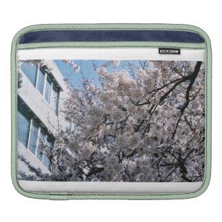 Japanese Cherry Blossoms Sakura Ipad Sleeve