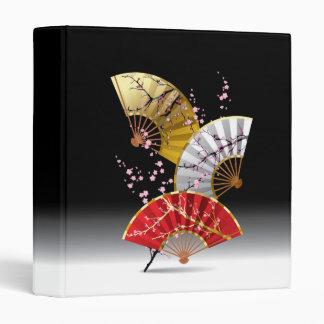 Japanese Cherry Fans Binder