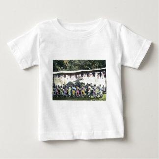 Japanese Cherry Festival Vintage Dancers Baby T-Shirt