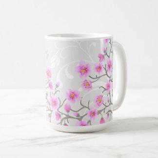 Japanese Cherry Flowers 15 oz Mug