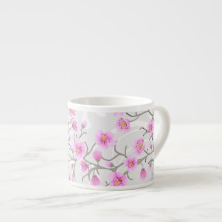 Japanese Cherry Flowers Espresso Cup