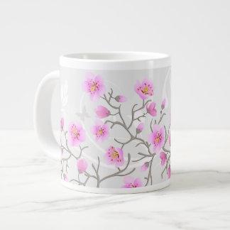 Japanese Cherry Flowers Jumbo Mug