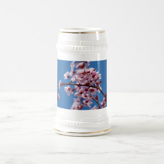 Japanese Cherry Tree Blossom Beer Stein