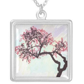 Japanese Cherry Tree Blossom Necklace