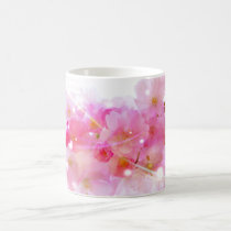 Japanese Cherry Tree with Pastel Pink Blossoms Coffee Mug