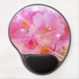 Japanese Cherry Tree with Pastel Pink Blossoms Gel Mouse Pad