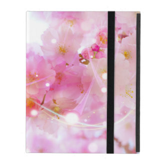 Japanese Cherry Tree with Pastel Pink Blossoms iPad Cases