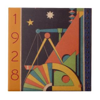 Japanese children book cover azulejo cuadrado pequeño