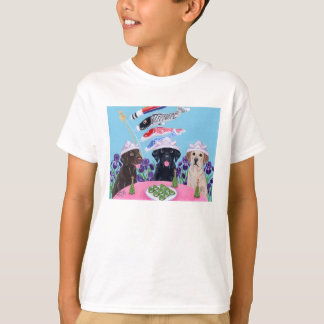 Japanese Children's Day Labradors T-Shirt