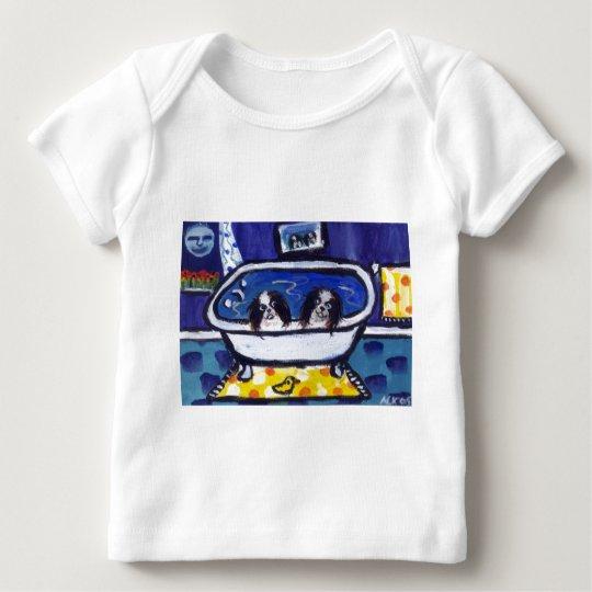 japanese chin bath baby T-Shirt
