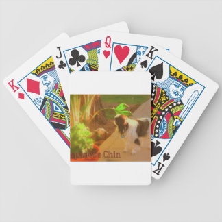 Japanese Chin Bicycle Playing Cards