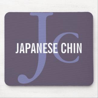 Japanese Chin Breed Monogram Mousepad