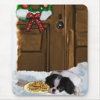 Japanese Chin Christmas Gifts Mouse Pad