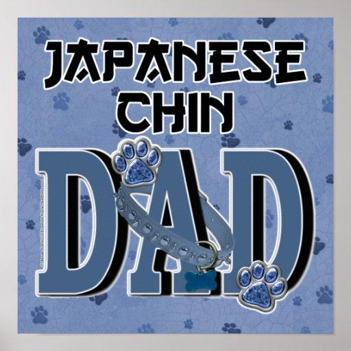 Japanese Chin DAD Print