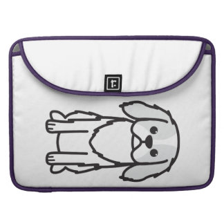 Japanese Chin Dog Cartoon Sleeve For MacBooks