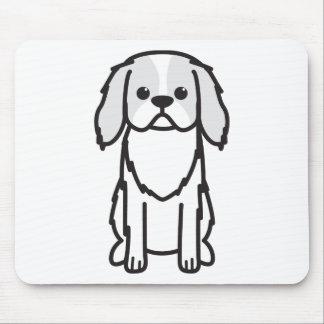 Japanese Chin Dog Cartoon Mouse Pads