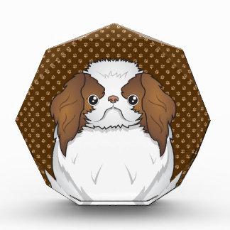 Japanese Chin Dog Cartoon Paws Award