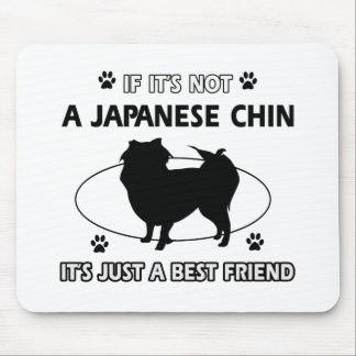JAPANESE CHIN dog designs Mouse Pad