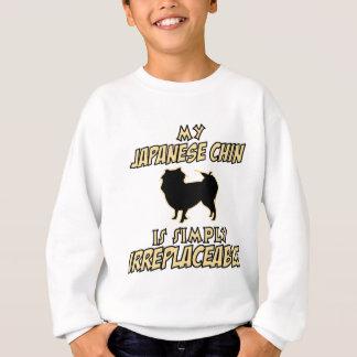 Japanese Chin DOG designs Sweatshirt