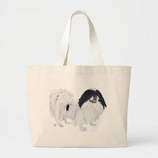 Japanese Chin Dog Jumbo Tote Bag