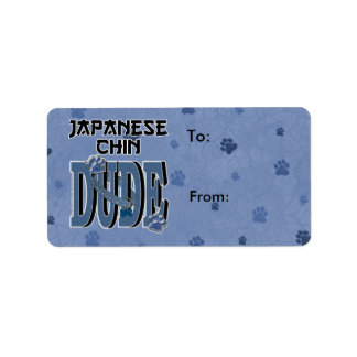 Japanese Chin DUDE Label
