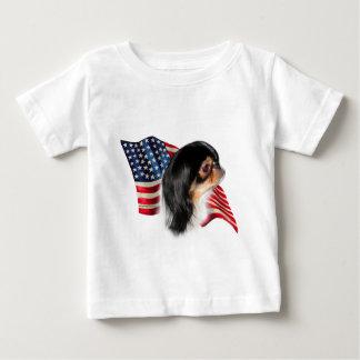 Japanese Chin Flag Baby T-Shirt