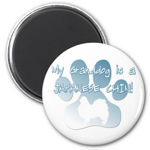 Japanese Chin Granddog Magnet