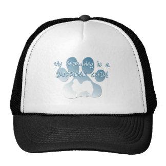 Japanese Chin Granddog Trucker Hat