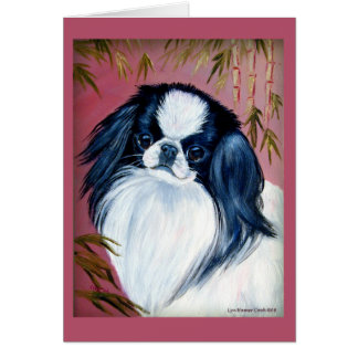 Japanese Chin Greeting Cards