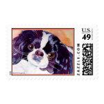 Japanese Chin Postage Stamp