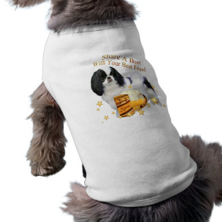 Japanese Chin Share A Beer Tee