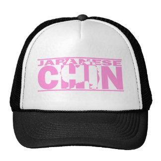 Japanese Chin Silhouette Trucker Hat