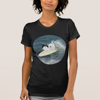Japanese Chin Surfing T Shirts