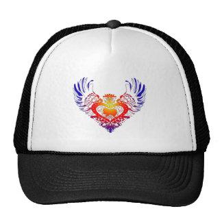 Japanese Chin Winged Heart Trucker Hat