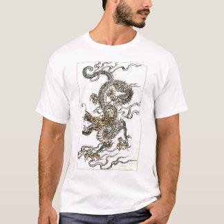 Japanese/Chinese Dragon - Double Sided T-Shirt