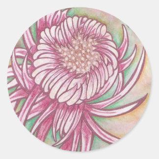 Japanese Chrysanthemums Stickers