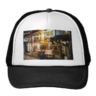 Japanese City Scene Mesh Hat