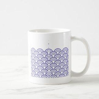 "Japanese classic pattern ""SEIGAIHA "" harmony Coffee Mug"