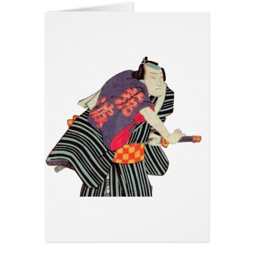 japanese classic style print card
