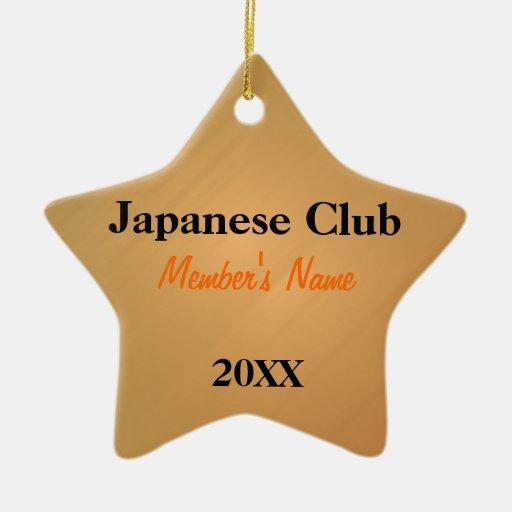 Japanese Club, Foreign Language Club Ornaments