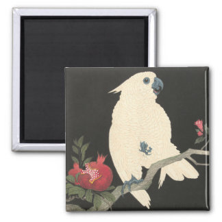 JAPANESE COCKATOO Magnet