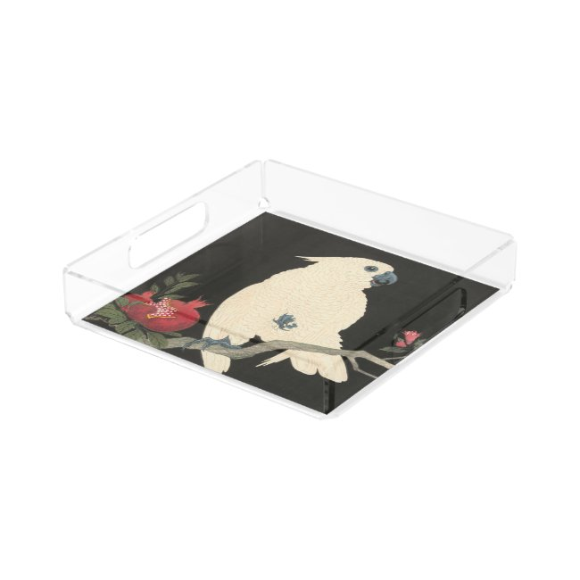 JAPANESE COCKATOO Perfume Tray