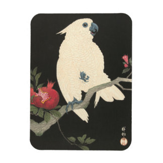JAPANESE COCKATOO Photo Magnet