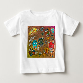Japanese Collage Baby T-Shirt