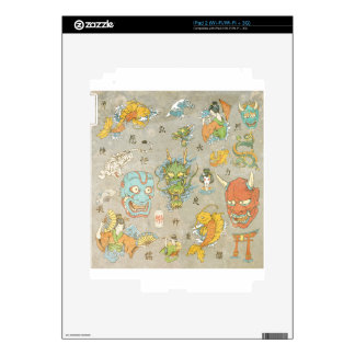 Japanese Collage Skin For The iPad 2