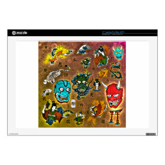 Japanese Collage Skins For Laptops