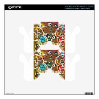Japanese Collage Skins For PS3 Controllers