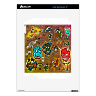 Japanese Collage Skins For The iPad 2
