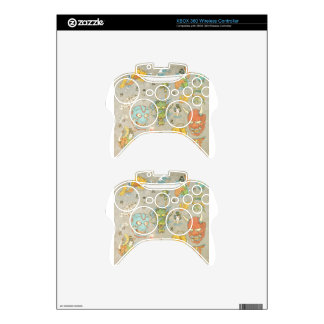 Japanese Collage Xbox 360 Controller Decal