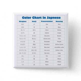 Japanese Color Chart Button